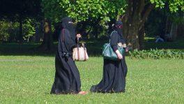 Gesichtsverschleierungen wie der Niqab dürfen in Europa verboten werden.