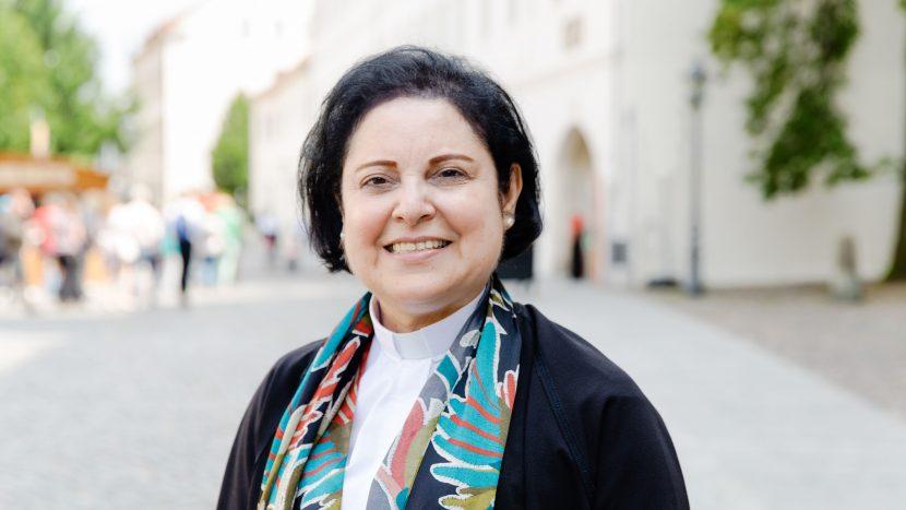 Najla Kassab wurde im März 2017 zur Pfarrerin ordiniert.