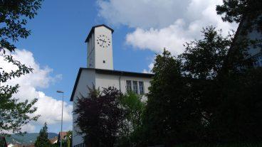 Die Johanneskirche in Trimbach, Kanton Solothurn.