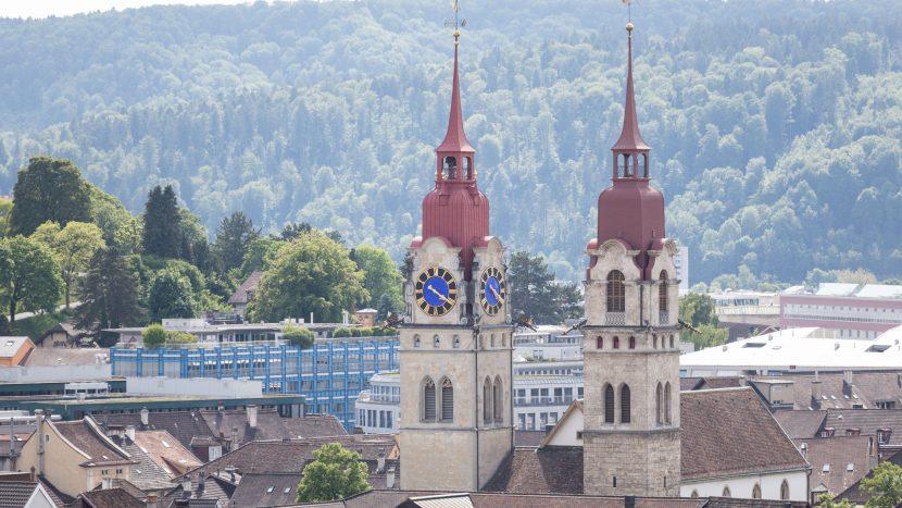 Die Glocken der Winterthurer Stadtkirche schlagen nachts nur noch zur vollen Stunde.