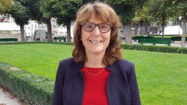 Projektleiterin Elisabeth Stuck, hier auf der Münsterplattform, freut sich über die grosse Resonanz des Erlebnistages.